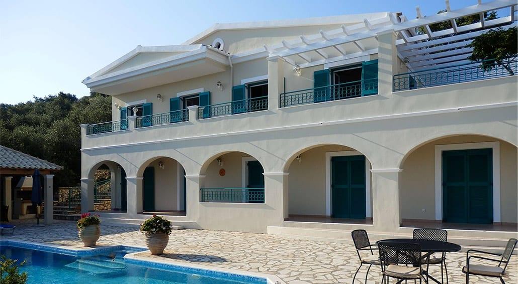 Villa Andrea Kassiopi Corfu